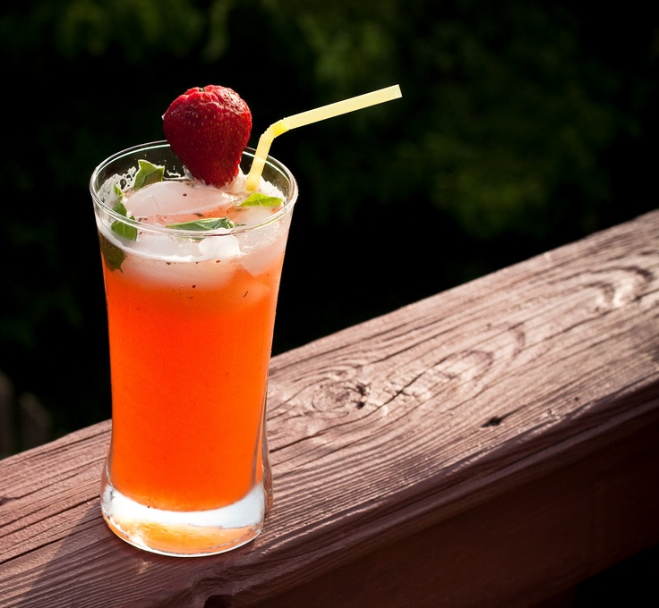Strawberry Basil Lemonade   Around Annabelle's Table - Party Works ...