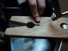 Saw-piercing - early stages of making your own wedding ring!