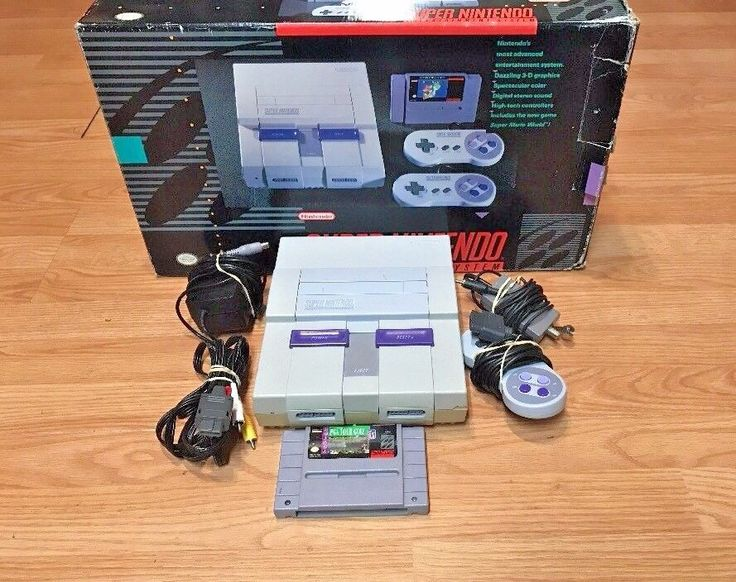 Original Super Nintendo Entertainment System 1game #Nintendo