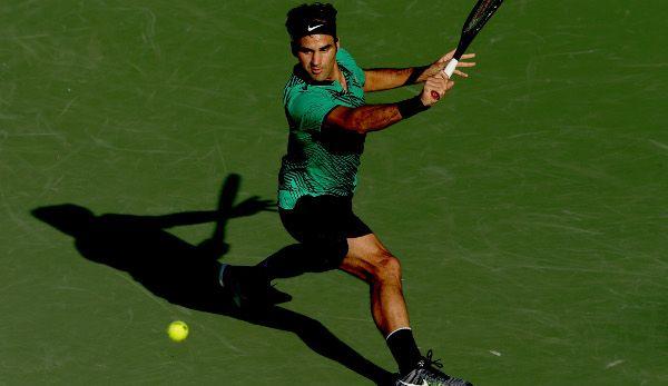 Roger Federer hat die 1000er-Turniere geprägt wie kaum ein anderer