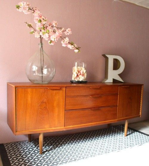 awesome meuble tv bas scandinave un exemple denfilade. Black Bedroom Furniture Sets. Home Design Ideas