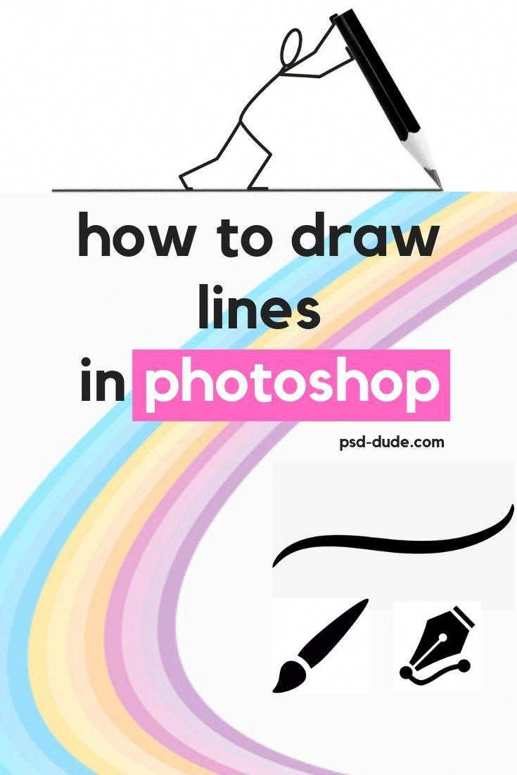 How To Draw Lines In Photoshop In 2020 Easy Photoshop Tutorials Photoshop Photoshop Tutorial Graphics
