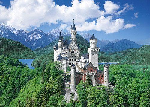 ノイシュヴァンシュタイン城 Neuschwanstein Castle