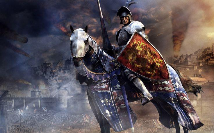 Fantasy - Ritter  Hintergrundbild