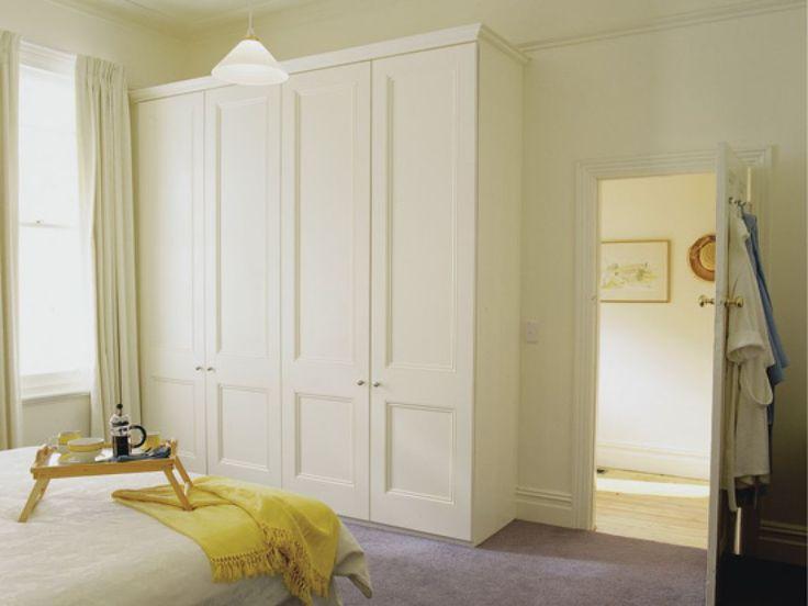 Bedroom White Hinged Wardrobe Doors The Advantages Of Hinged Wardrobe Doors Check more at http://www.wearefound.com/the-advantages-of-hinged-wardrobe-doors/