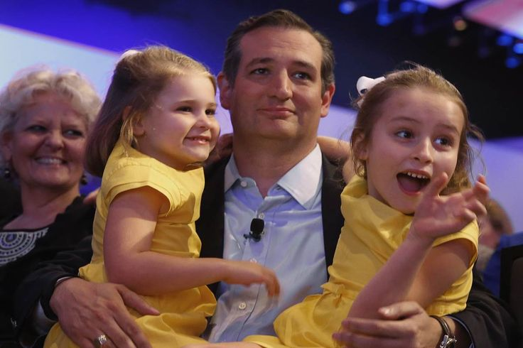 """Sen. Ted Cruz launched an """"emergency"""" fundraising appeal after the Washington Post published a cartoon depicting his daughters as dancing monkeys. nbcnews.com 12/23/15"""