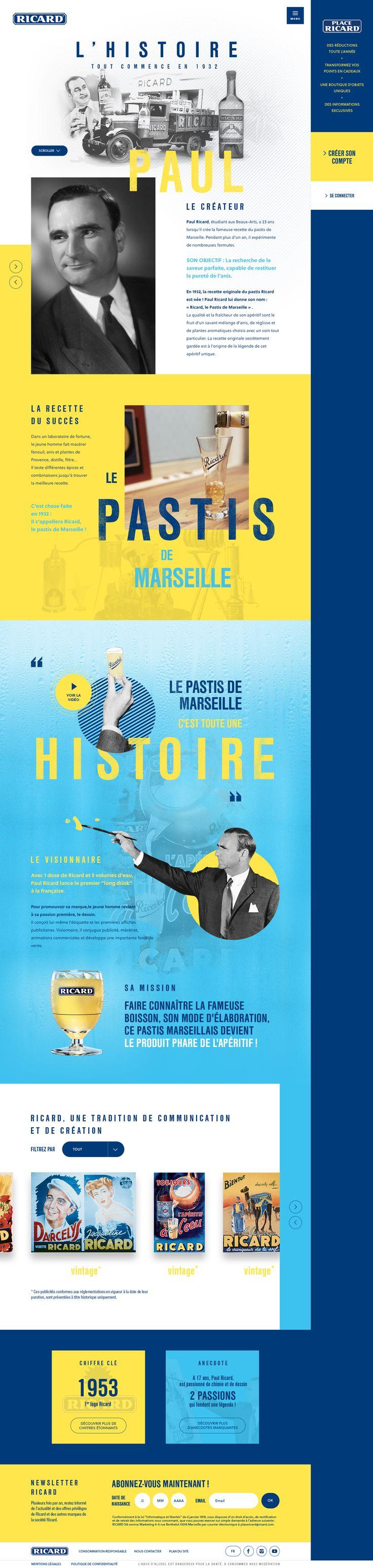 Ricard - L'histoire