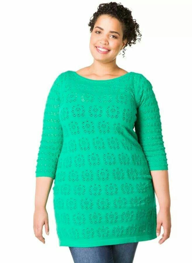 Emerald Tunic - Plus Size - Curvy Fashion - Bold - Unique - Renegade