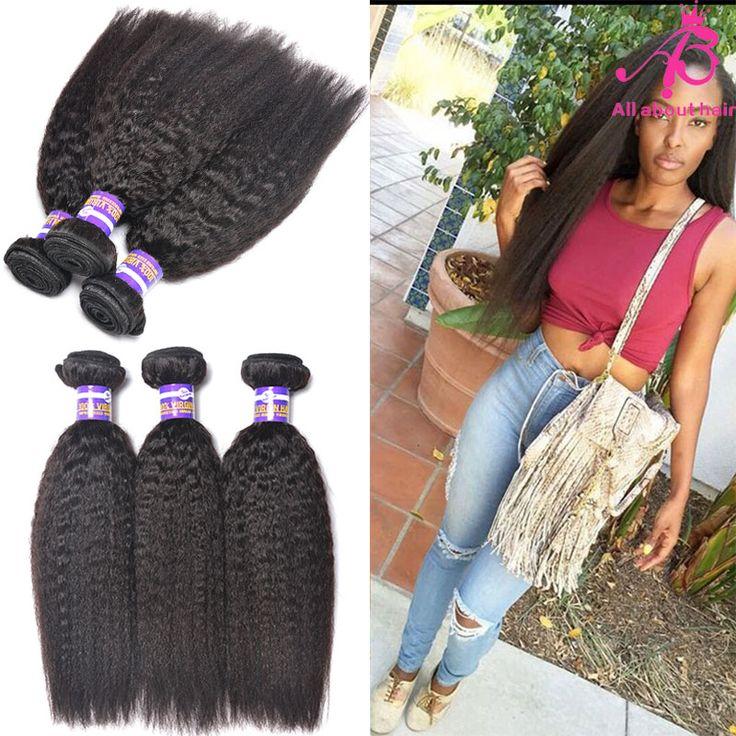 19 best 3 bundle kinky straight brazilian hair grade 8a images on best quality 7a grade human hair weave brazilian kinky straight hair coarse yaki brazilian kinky straight pmusecretfo Images