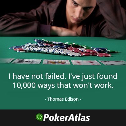Quotes about a poker face