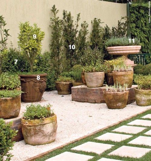 Jardim Italiano | Revista De Decoração - Em Casa