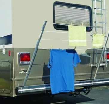 IN STOCK Bumper Mount Clothes Line $36.25 WAS $32.95 NOW ONLY #camping #rv