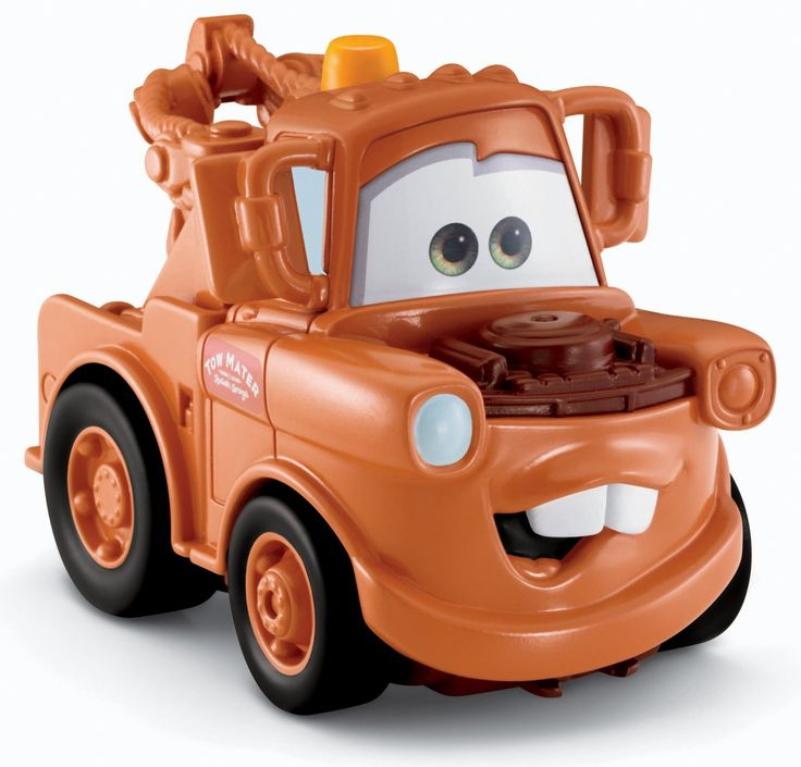 -+Fisher-Price+Cars+2+Movie+Toe+Truck+Mater+Toy+Disney+Cars+Shake+n+Go+Toy