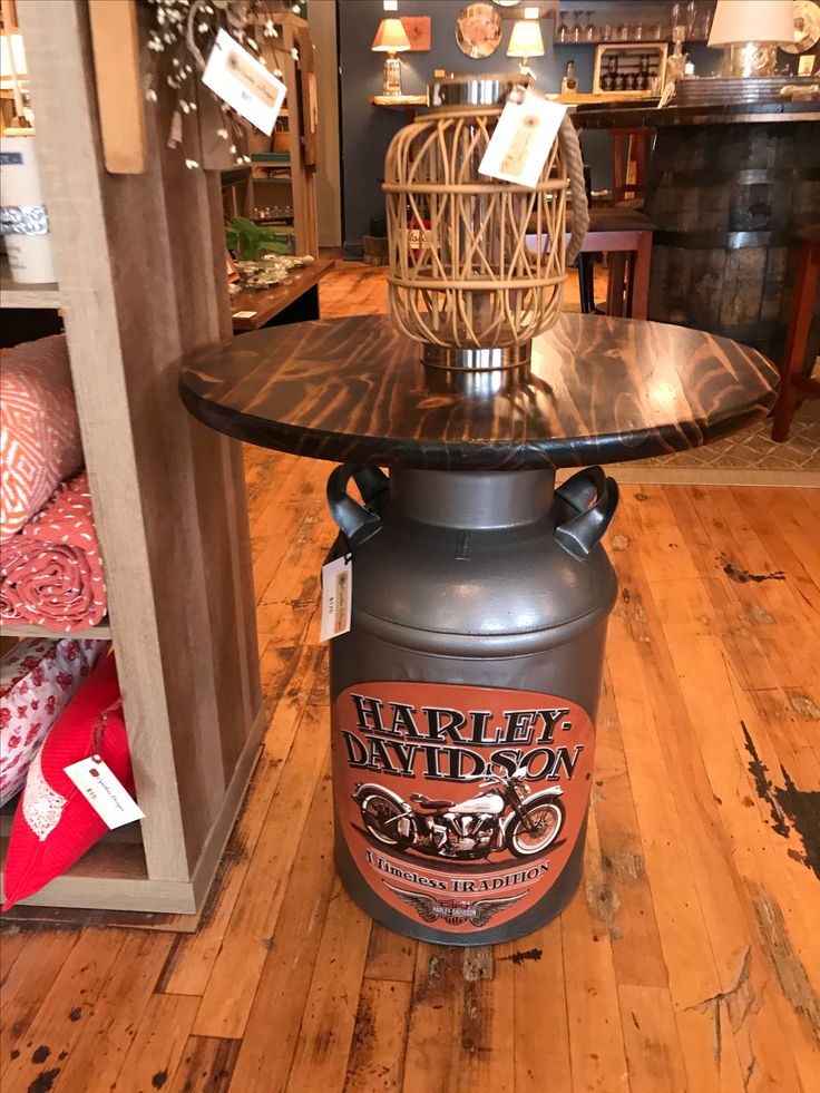 The 25 best ideas about milk can table on pinterest for Milk can table ideas