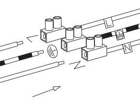 wie schliet man eine leuchte an plusdraht phase minusdraht nullleiter - Wie Schliet Man Eine Lampe An