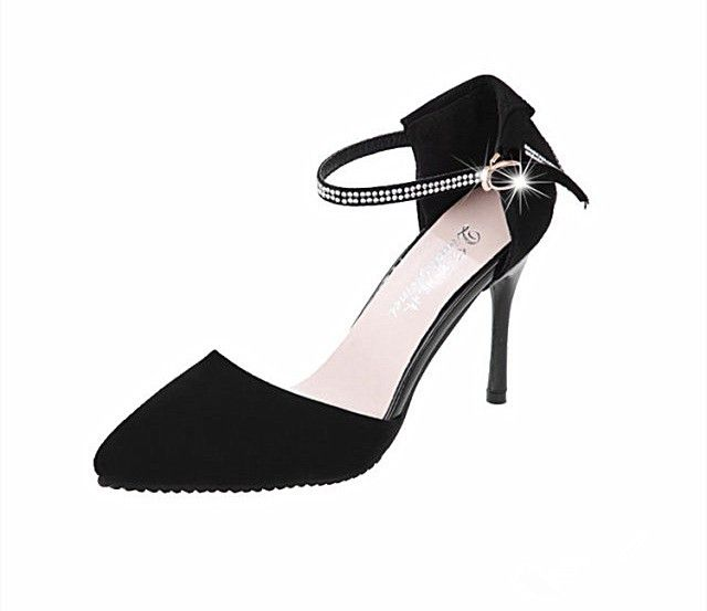 High Quality Fashion Women Summer Heels Pointed Toe Low Vamp Flat Sole Shoes…