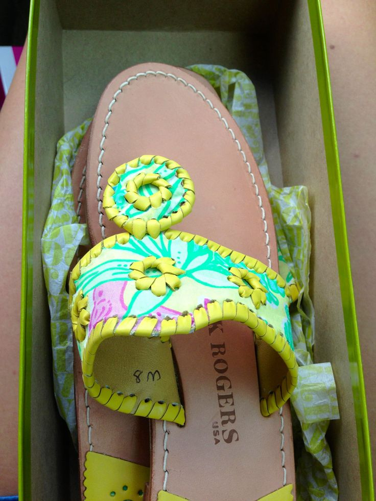 Lilly Pulitzer Jack Rogers