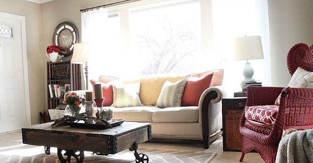 small living room after-Blissful Bee blog