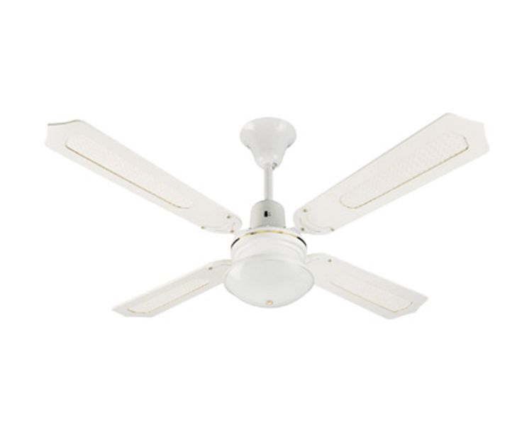 Clipsal Stainless Steel Ceiling Fan With Light