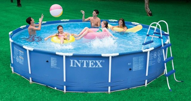 25 best intex above ground pools ideas on pinterest above ground pool landscaping pool. Black Bedroom Furniture Sets. Home Design Ideas