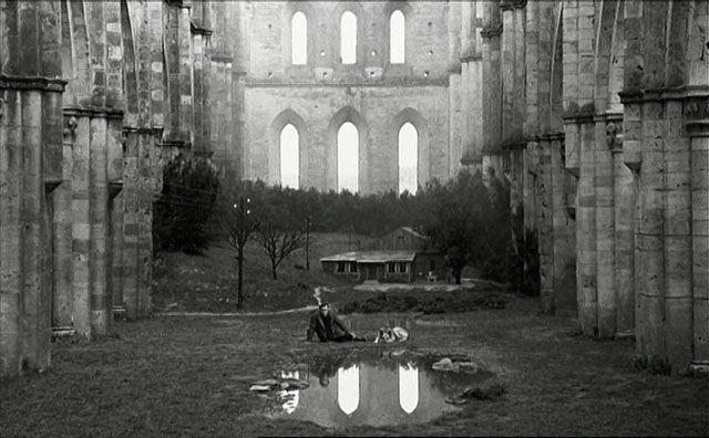 """From the movie """"Nostalghia"""" by Andrei Tarkovsky"""