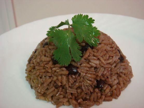 Dominican Moro De Habichuelas Negras Rice And Beans) Recipe - Food.com: Food.com