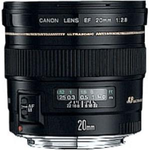 Objectif grand angle Canon EF 20 mm f/2.8 USM