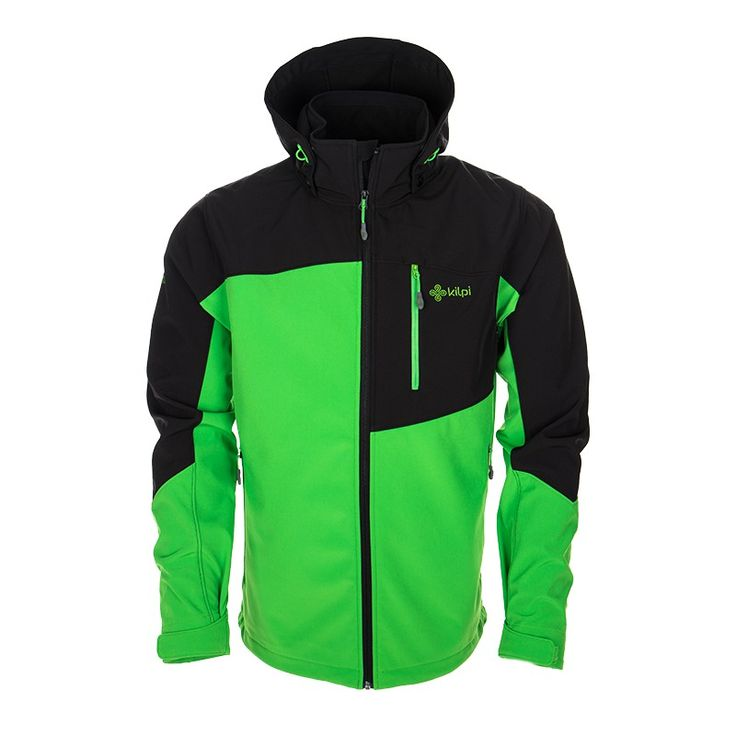 Men's softshell jacket KILPI - ELIO - green