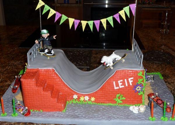 Best 25 Skateboard Cake Ideas On Pinterest Birthday