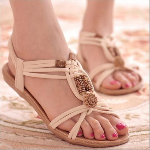 Cheap Women's Sandals, Buy Directly from China Suppliers:Retro New Fashion  Summer Style Women Shoes White Flats Flip Gladiator Brief Herringbone  Flip-flop ...