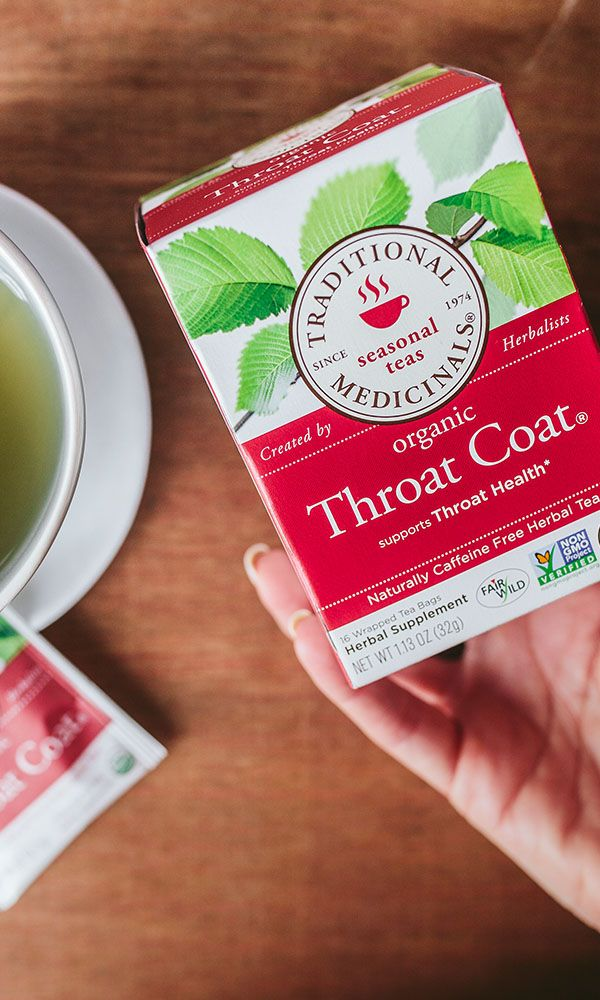 Our Throat Coat tea is a mainstay beverage adored by singers, actors, public speakers and anyone who's eager to support their throat health.* Click to learn more about what's inside, and how we ensure sustainable collection of slippery elm bark, the main active ingredient in the blend.