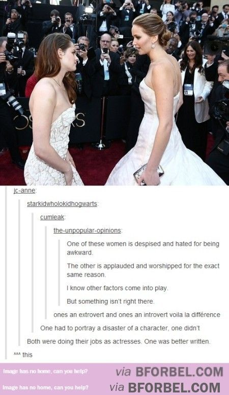 The Difference Between Kristen Stewart And Jennifer Lawrence…