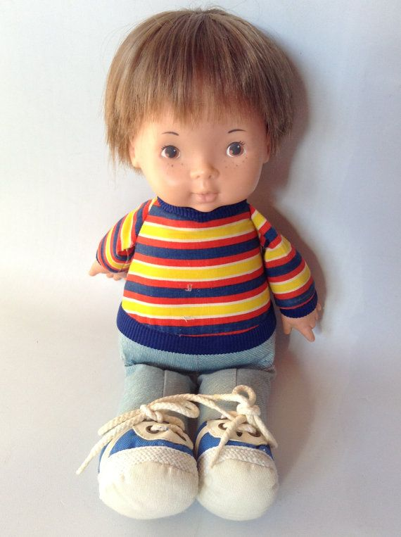 Fisher Price Joey Doll Vintage 1973 Lapsitter 206 Dolls