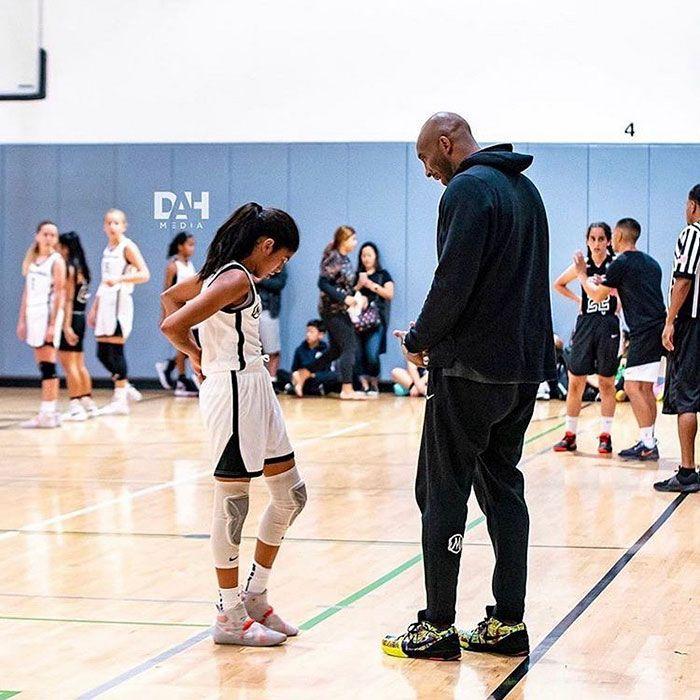 17 Heartbreaking Photos Of Kobe Bryant And His 13 Year Old Daughter Gigi In 2020 Kobe Bryant Daughters Kobe Bryant Kobe Bryant Family