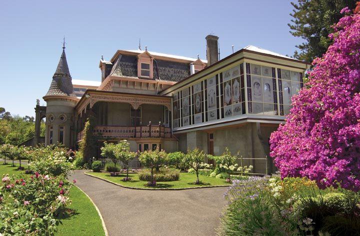 Bendigo's Mansion - Villa Fortuna. Built 1856 by architect Theodore Ballerstedt (Extant)