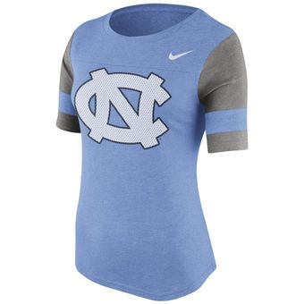Nike North Carolina Tar Heels Women's Stadium Fan Top Shirt #tarheels #unc #northcarolina