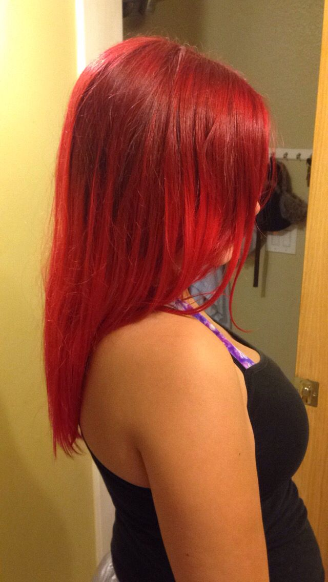 My Red Hair I Mixed Lor 233 Al Hicolor Highlights In Red