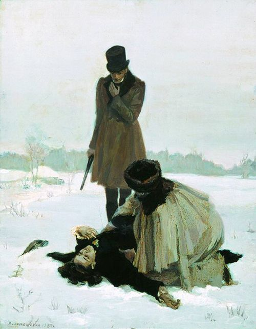 snowce:  Lidia Timoshenko, Illustration for Alexander Pushkin's...