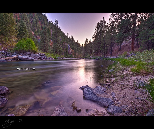 Beautiful camping spot at Middle Fork on the Boise River. Promote progress in Boise at boisethinks.org
