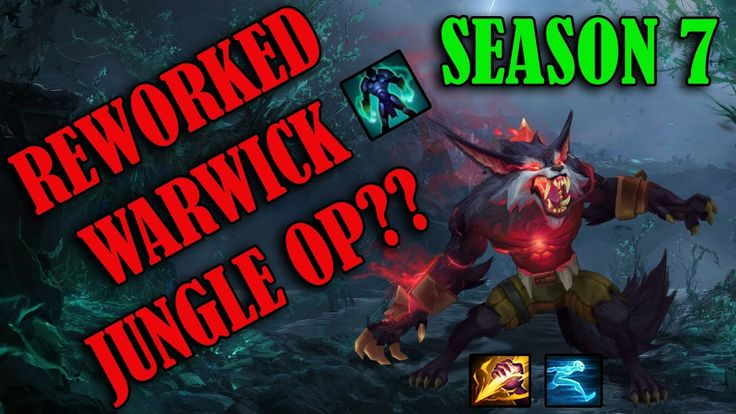 I posted a Warwick Jungle video on my channel the other day! https://youtu.be/IJ-Me7eWBNs #games #LeagueOfLegends #esports #lol #riot #Worlds #gaming