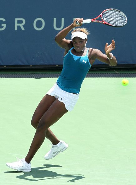 Sloane Stephens.. 19 year year old, destroy the French open.