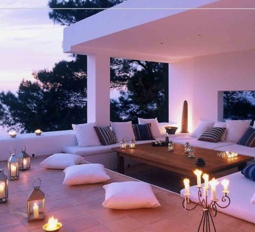 Serenity and romantic for outdoor retreat with her