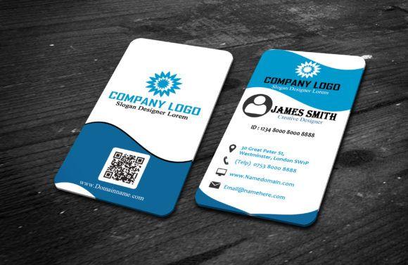 Modern Vertical Business Card Vertical Business Cards Business
