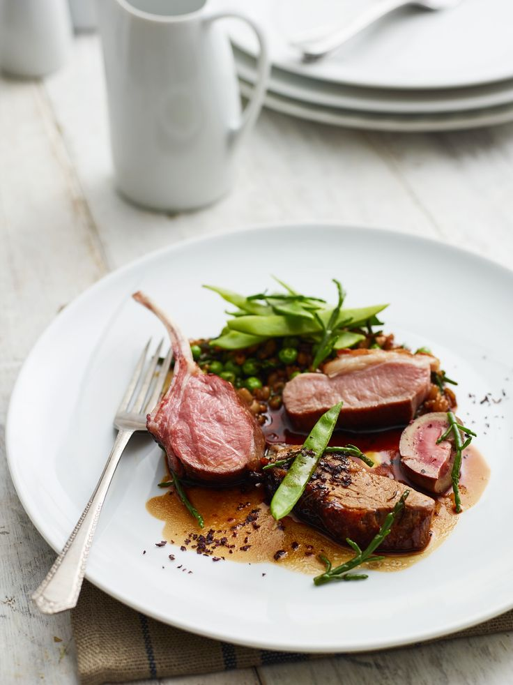 Miele's executive chef and owner of Hardley Hill Farm, Sven-Hanson Britt has created this delicious whole Portland mutton recipe in collaboration with John Lewis. The richness of the meat is beautifully balanced by the freshness of the peas and dulse, creating a dish that is full of flavour