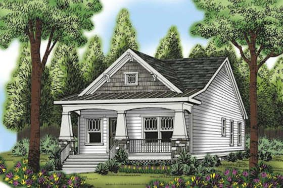 House plan 419 228 for Houseplans com craftsman