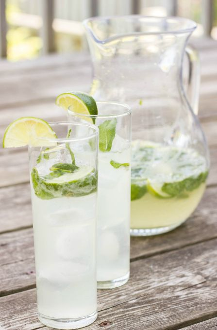Pitcher of Mojitos  http://thecookiewriter.com/2014/06/half-pitcher-of-mojitos.html
