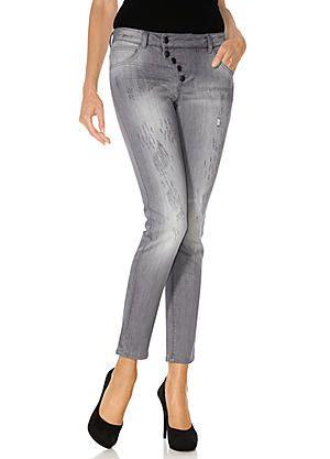 Heine Skinny Cropped Jeans #kaleidoscope #denim