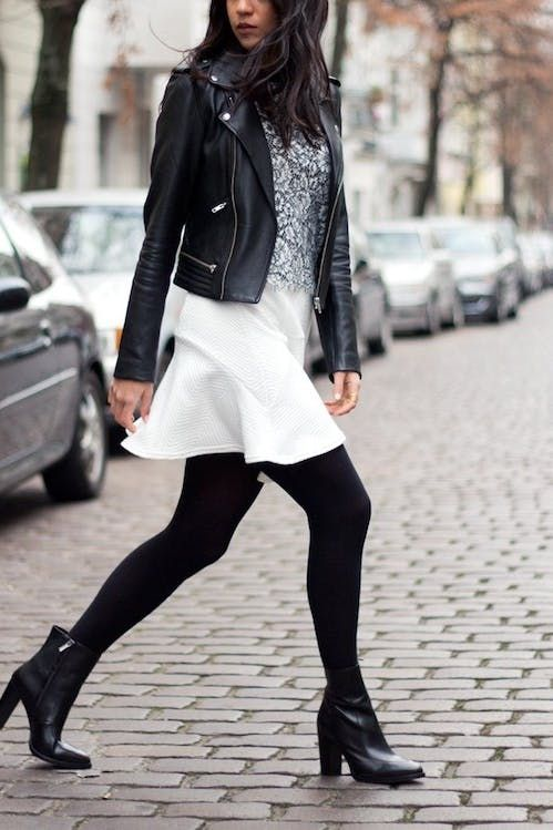 0b716b02292 How to Wear Ankle Boots with Short Legs | Skirts | Ankle boots dress ...