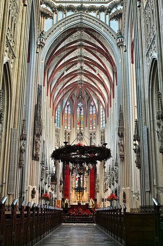 St. John's Cathedral in Den Bosch.Netherlands