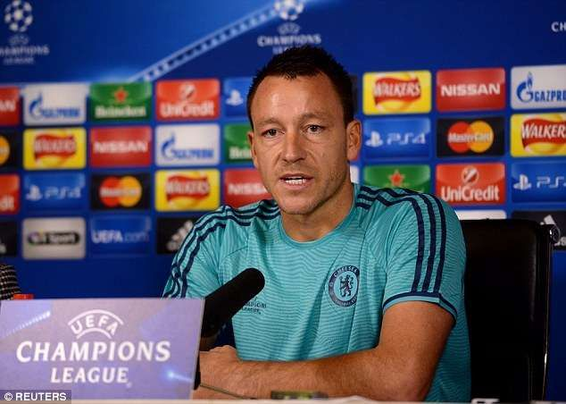 Chelsea star John Terry refuses to accept criticism from Robbie Savage